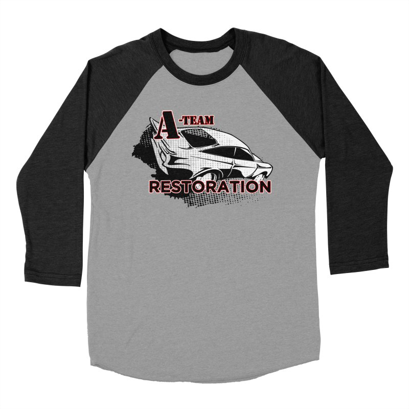 A-Team Restoration Men's Baseball Triblend Longsleeve T-Shirt by Clare Bohning's Shop