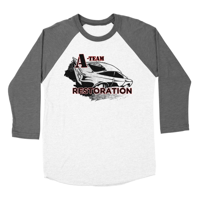 A-Team Restoration Men's Baseball Triblend Longsleeve T-Shirt by Clare Bohning's Shop