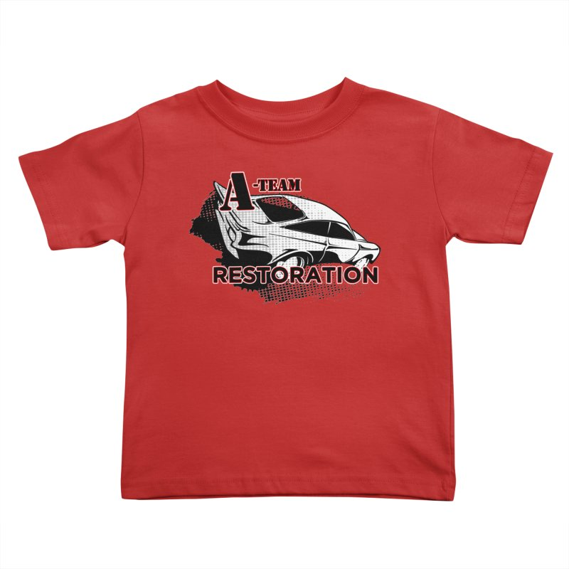 A-Team Restoration Kids Toddler T-Shirt by Clare Bohning's Shop