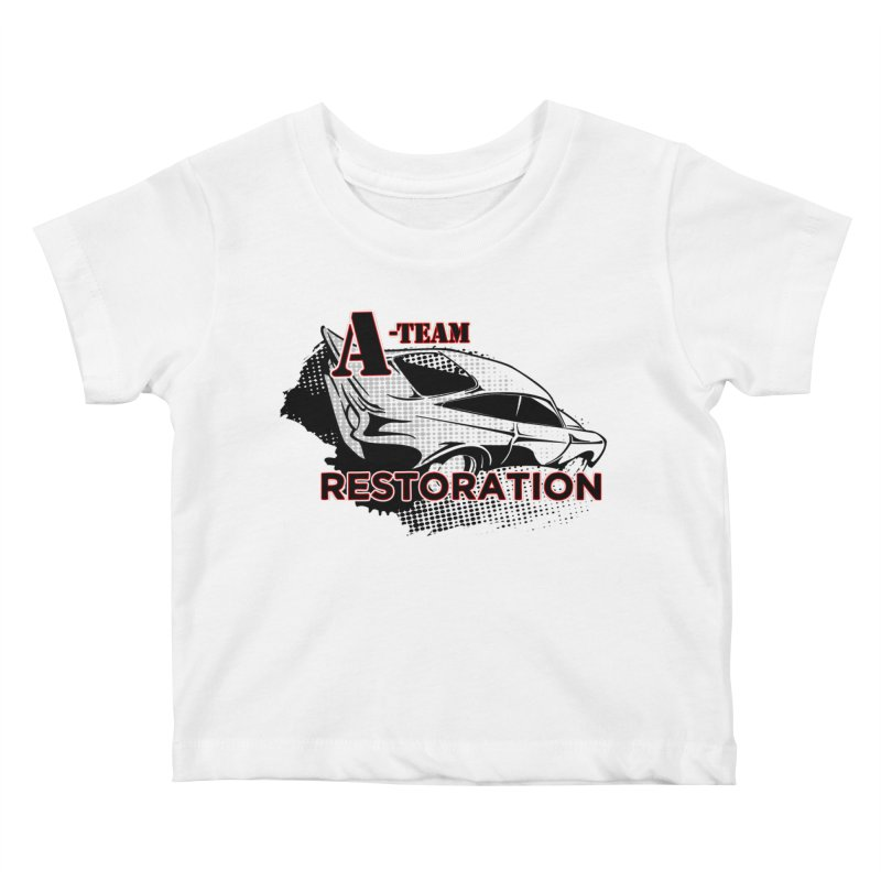 A-Team Restoration Kids Baby T-Shirt by Clare Bohning's Shop