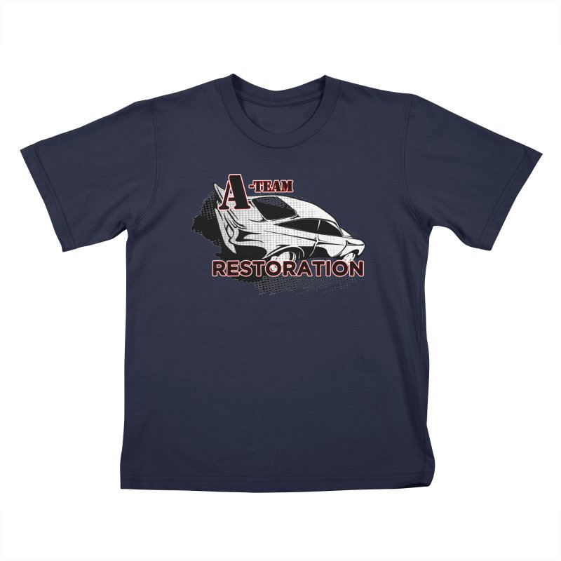 A-Team Restoration Kids T-Shirt by Clare Bohning's Shop