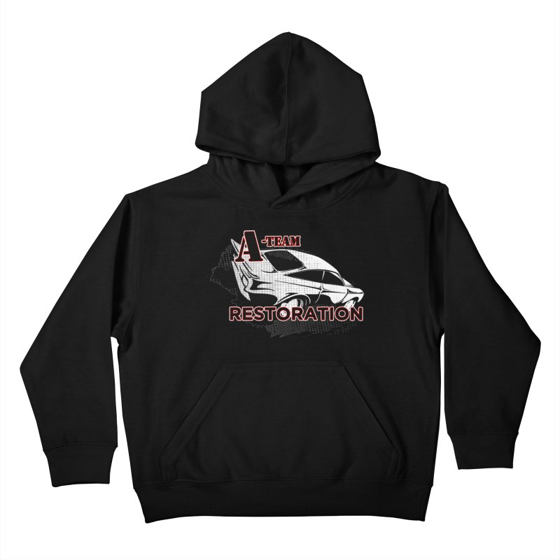 A-Team Restoration Kids Pullover Hoody by Clare Bohning's Shop