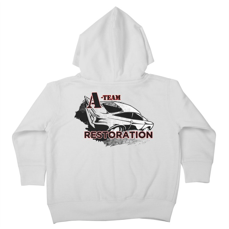 A-Team Restoration Kids Toddler Zip-Up Hoody by Clare Bohning's Shop