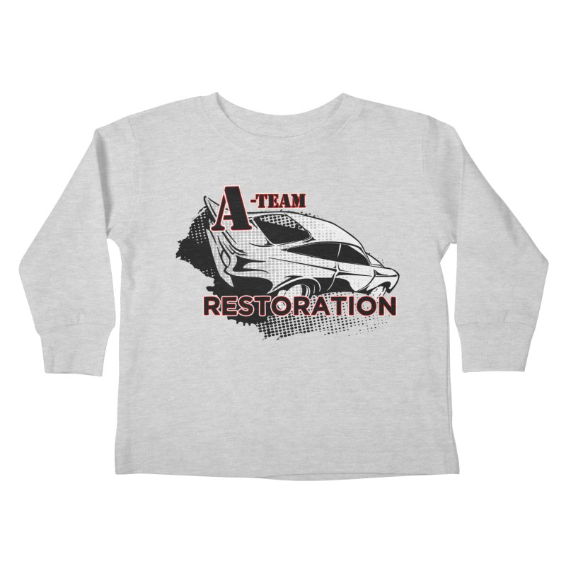 A-Team Restoration Kids Toddler Longsleeve T-Shirt by Clare Bohning's Shop