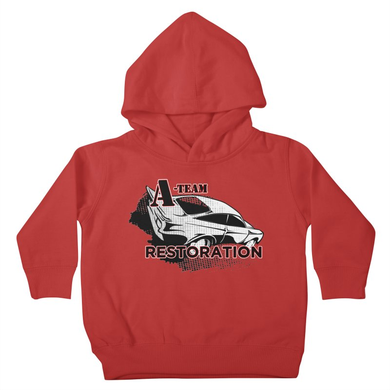 A-Team Restoration Kids Toddler Pullover Hoody by Clare Bohning's Shop