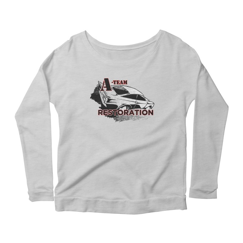 A-Team Restoration Women's Scoop Neck Longsleeve T-Shirt by Clare Bohning's Shop