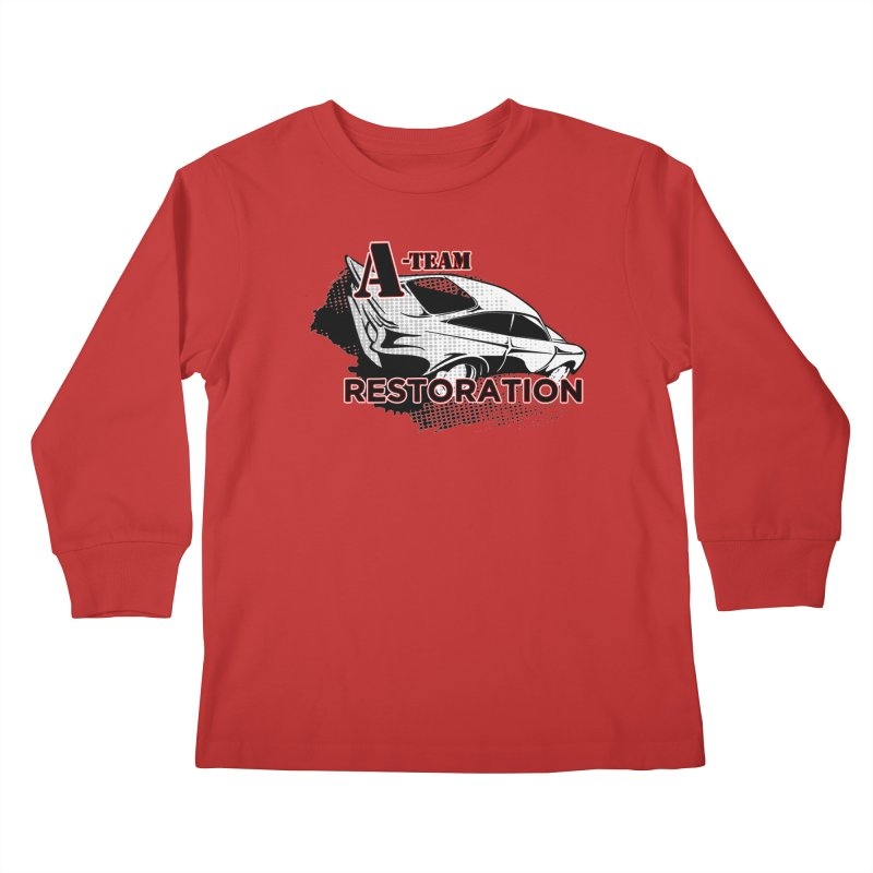 A-Team Restoration Kids Longsleeve T-Shirt by Clare Bohning's Shop