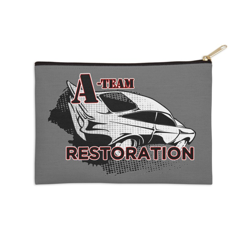 A-Team Restoration Accessories Zip Pouch by Clare Bohning's Shop
