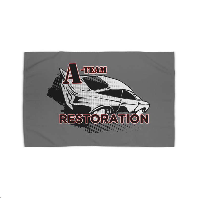 A-Team Restoration Home Rug by Clare Bohning's Shop