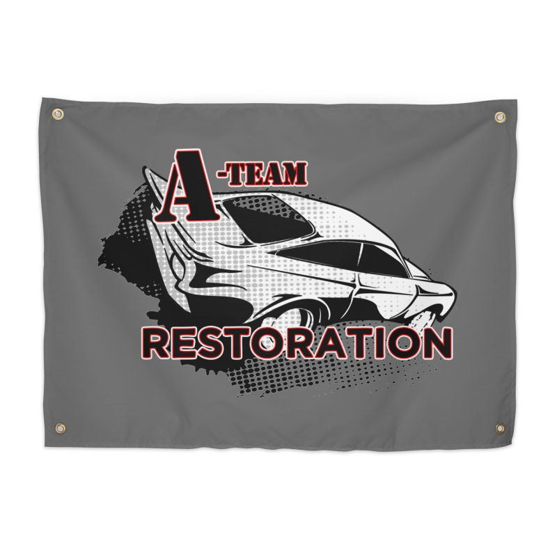 A-Team Restoration Home Tapestry by Clare Bohning's Shop