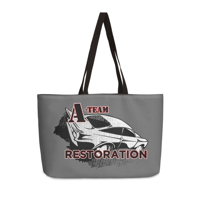 A-Team Restoration Accessories Weekender Bag Bag by Clare Bohning's Shop
