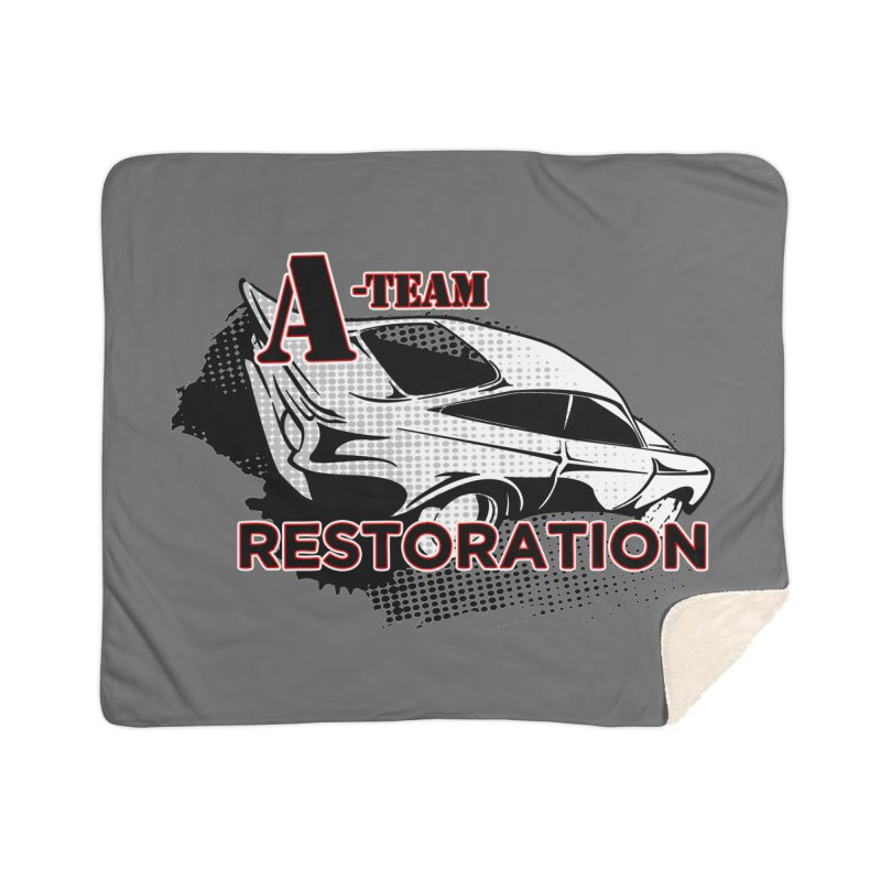 A-Team Restoration Home Sherpa Blanket Blanket by Clare Bohning's Shop