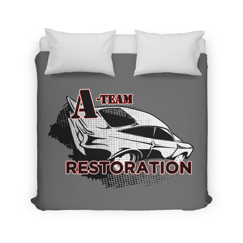 A-Team Restoration Home Duvet by Clare Bohning's Shop