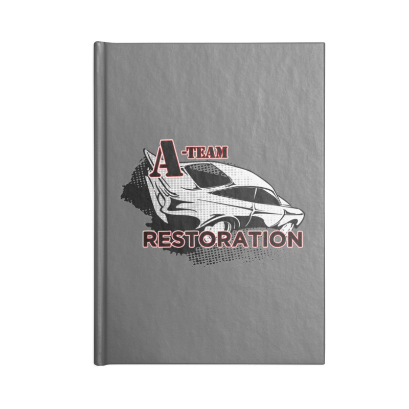 A-Team Restoration Accessories Lined Journal Notebook by Clare Bohning's Shop