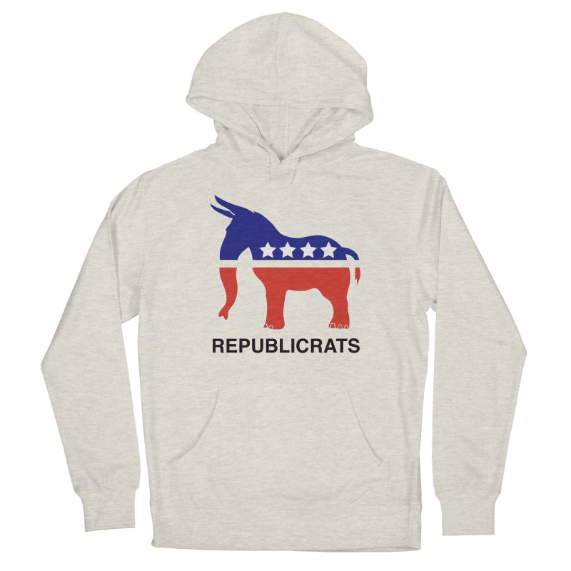 REPUBLICRATS Men's Pullover Hoody by L33T GUY'S CRYPTO TEES