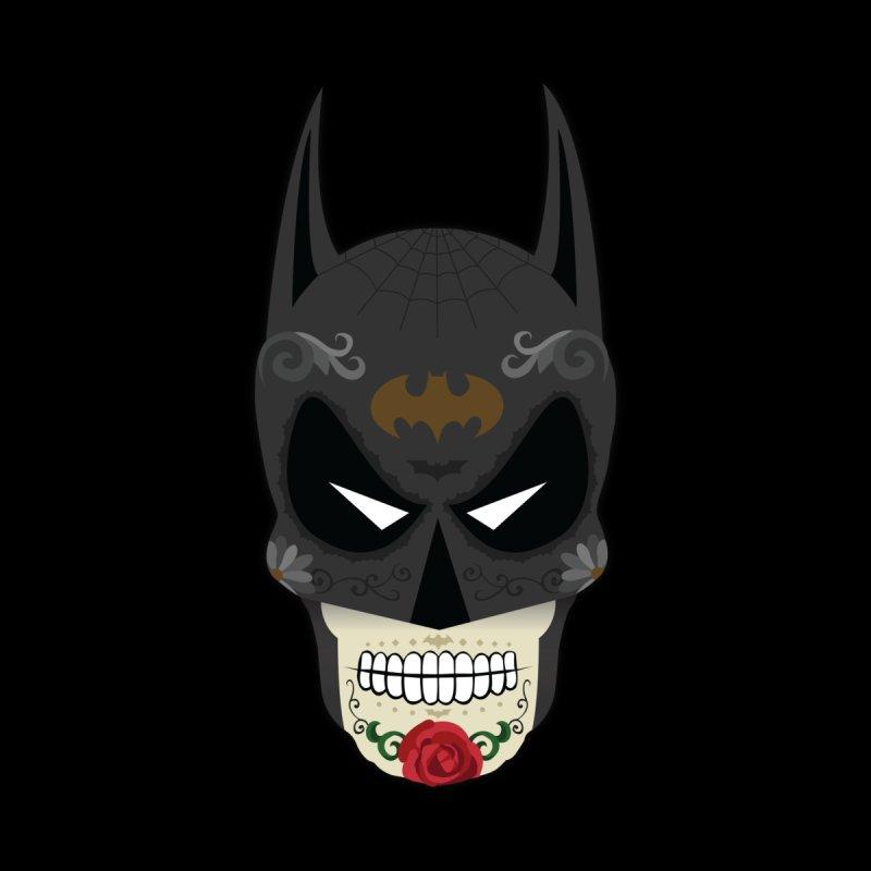 Dark Knight Sugar Skull Accessories Mug by Clark Street Press' Shop