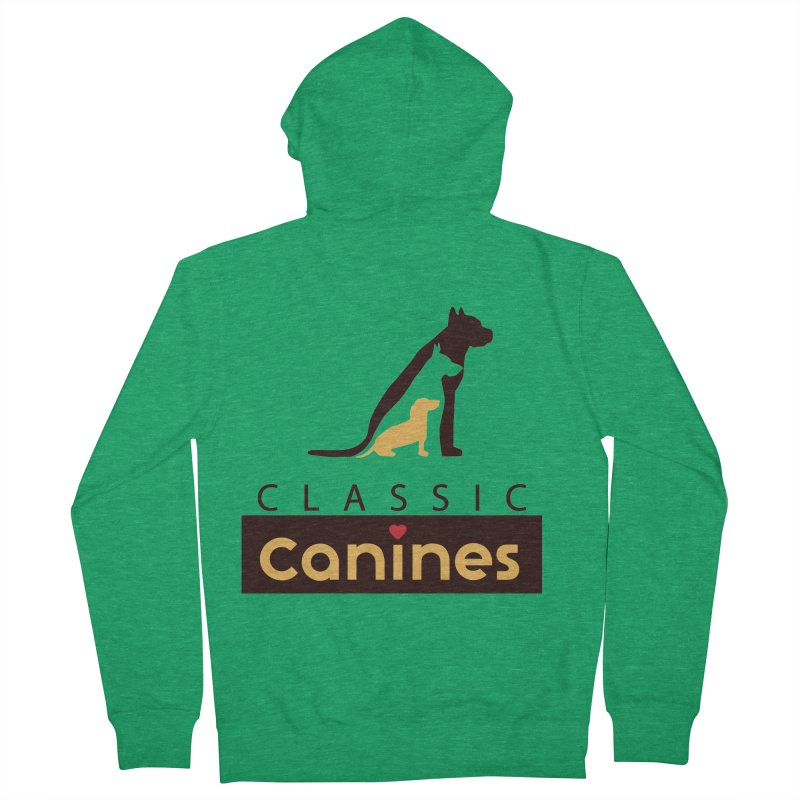 Classic Canines - TShirts & Sweatshirts Men's Zip-Up Hoody by Classic Canines Gear