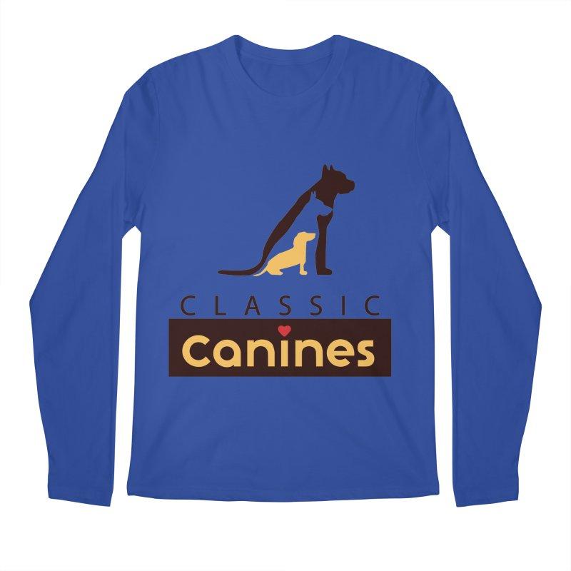 Classic Canines - TShirts & Sweatshirts Men's Longsleeve T-Shirt by Classic Canines Gear