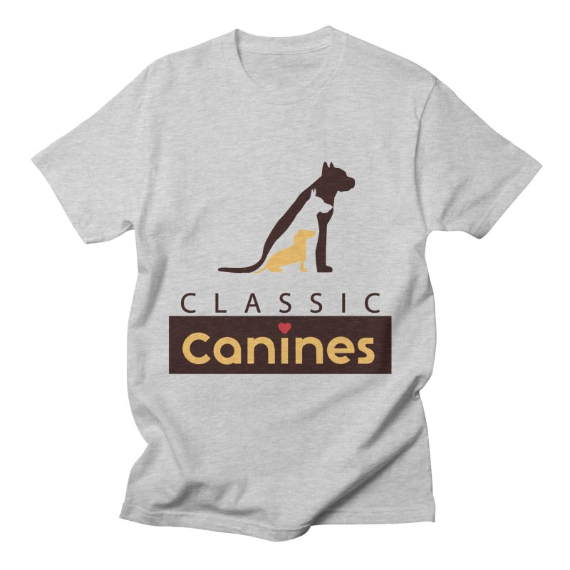 Classic Canines - TShirts & Sweatshirts Men's T-Shirt by Classic Canines Gear