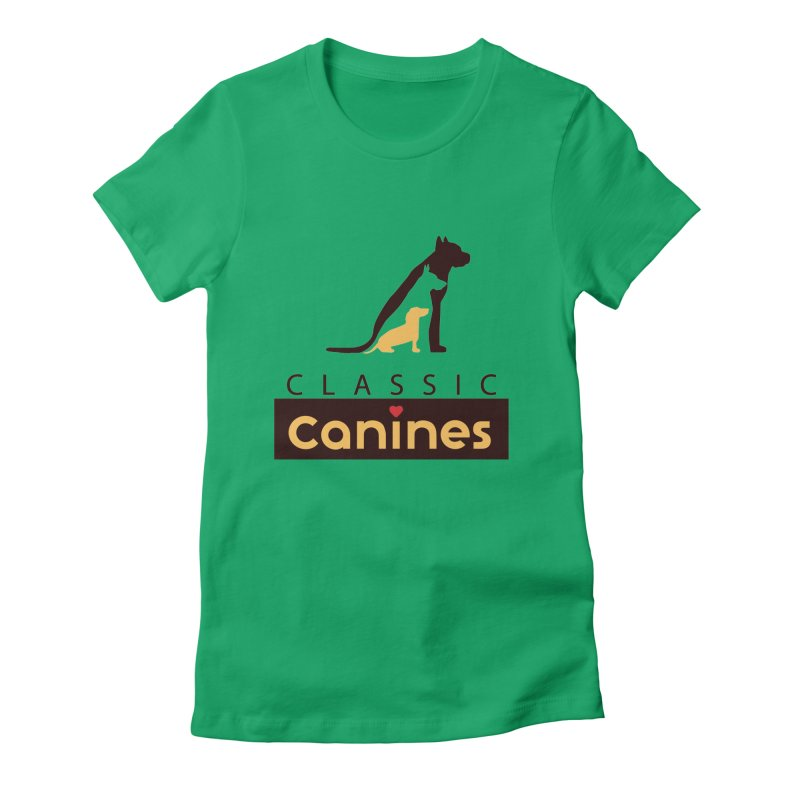 Classic Canines - TShirts & Sweatshirts Women's T-Shirt by Classic Canines Gear