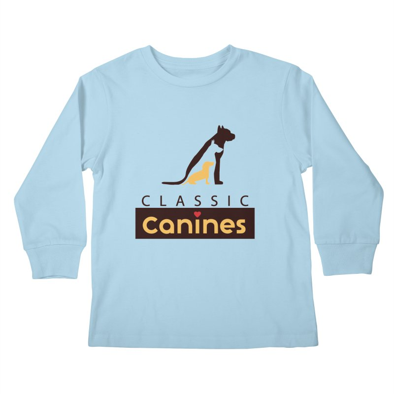 Classic Canines - TShirts & Sweatshirts Kids Longsleeve T-Shirt by Classic Canines Gear