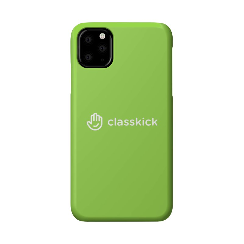 Classkick Logo White Accessories Phone Case by Classkick's Artist Shop