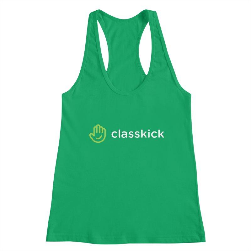 Classkick Logo Reverse Duotone Women's Tank by Classkick Store