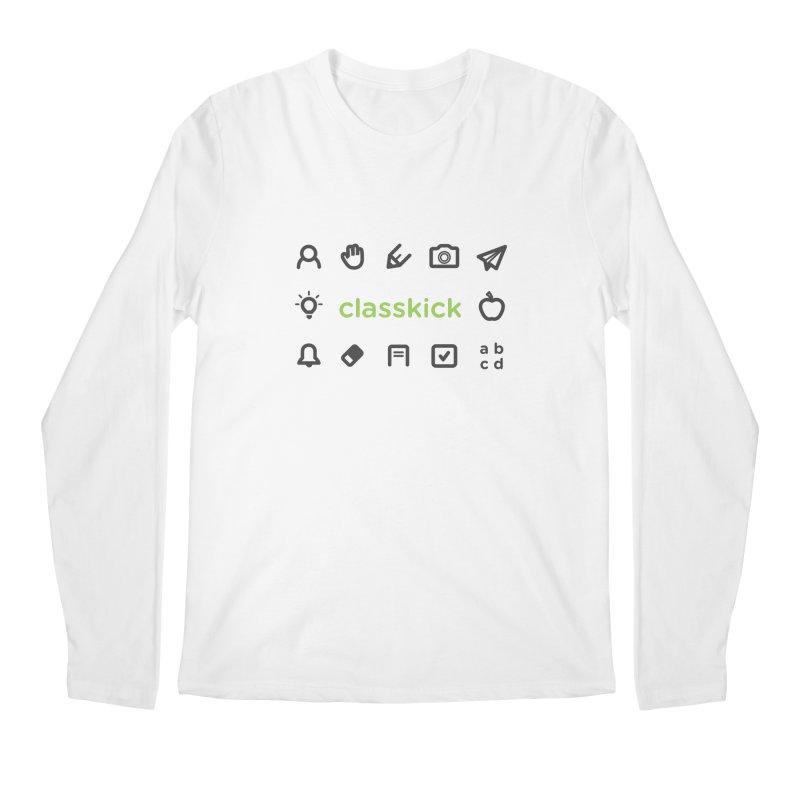 Classkick Icons Men's Regular Longsleeve T-Shirt by Classkick's Artist Shop