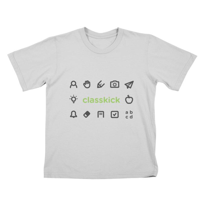 Classkick Icons Kids T-Shirt by Classkick's Artist Shop