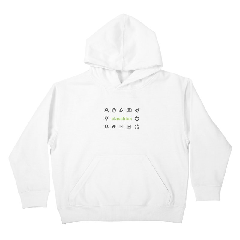 Classkick Icons Kids Pullover Hoody by Classkick's Artist Shop