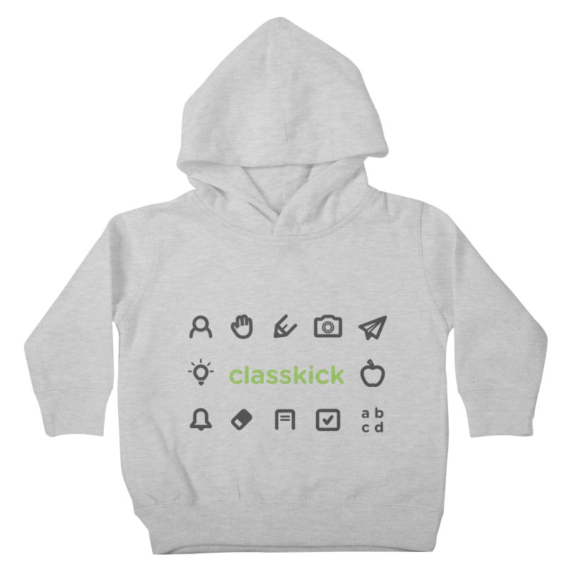 Classkick Icons Kids Toddler Pullover Hoody by Classkick's Artist Shop
