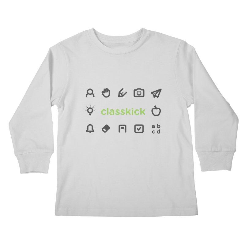 Classkick Icons Kids Longsleeve T-Shirt by Classkick's Artist Shop