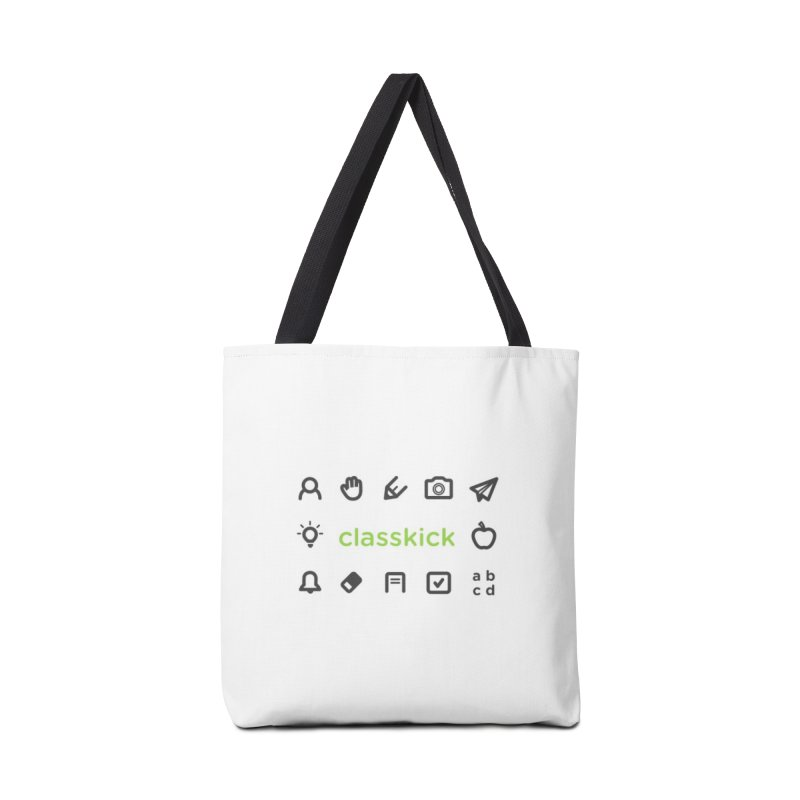 Classkick Icons Accessories Tote Bag Bag by Classkick's Artist Shop