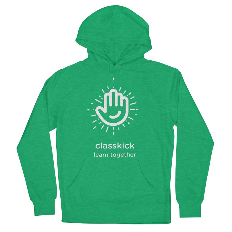 Hand Raise Starburst Men's French Terry Pullover Hoody by Classkick's Artist Shop