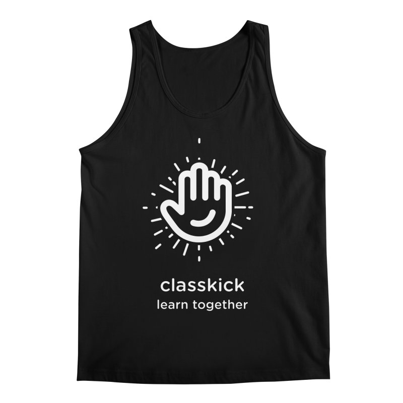 Hand Raise Starburst Men's Regular Tank by Classkick's Artist Shop