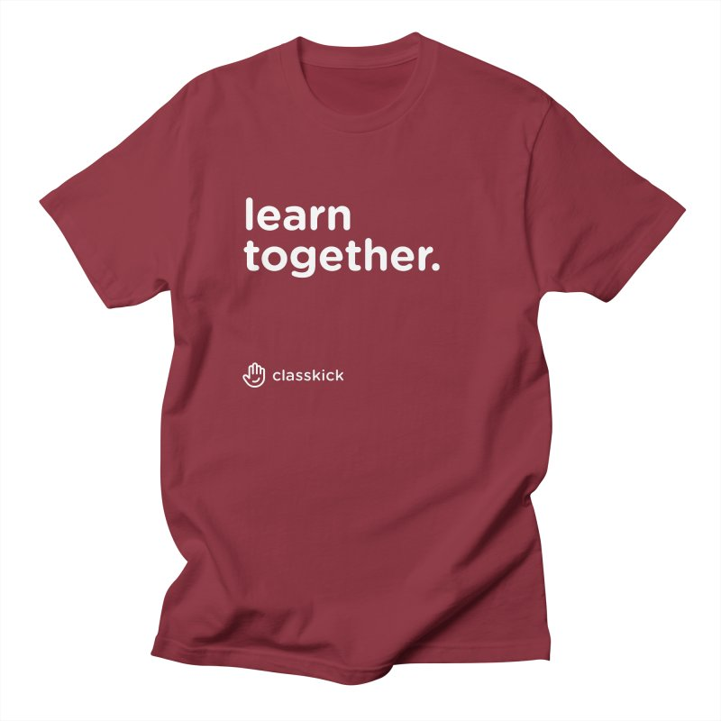 Learn Together White Men's T-Shirt by Classkick Store