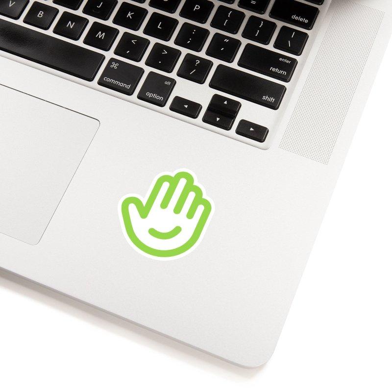 Logomark in White Sticker by Classkick's Artist Shop