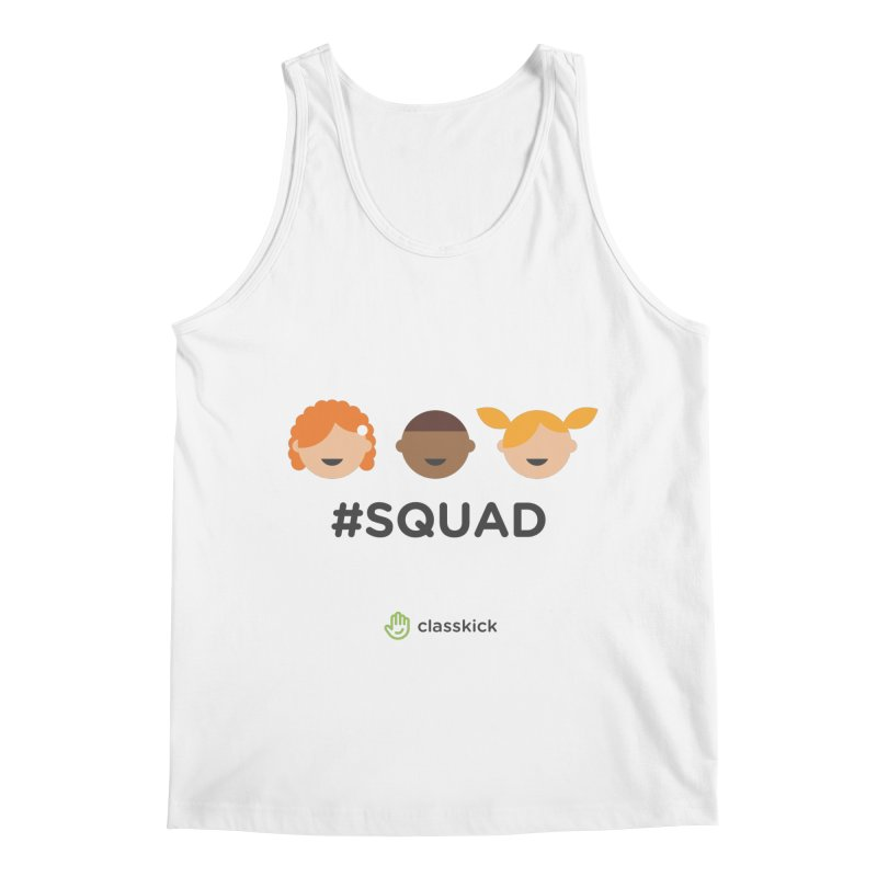 Squad Horizontal Men's Regular Tank by Classkick's Artist Shop