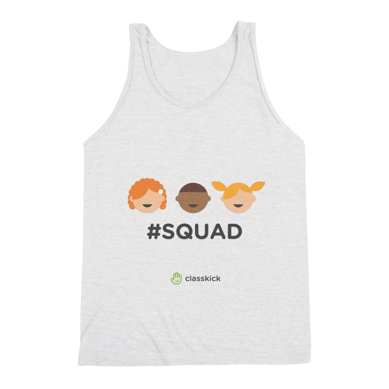 Squad Horizontal Men's Triblend Tank by Classkick's Artist Shop