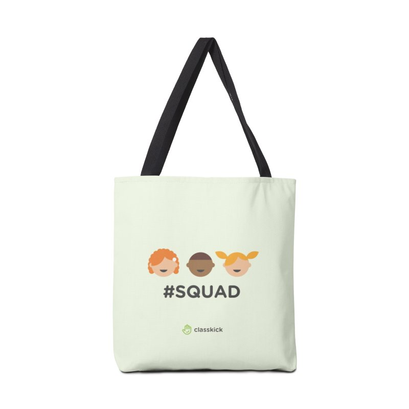 Squad Horizontal Accessories Tote Bag Bag by Classkick's Artist Shop