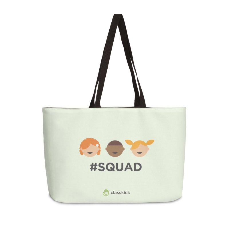 Squad Horizontal Accessories Weekender Bag Bag by Classkick's Artist Shop