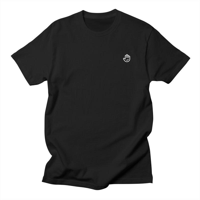 Logomark White Men's Regular T-Shirt by Classkick's Artist Shop