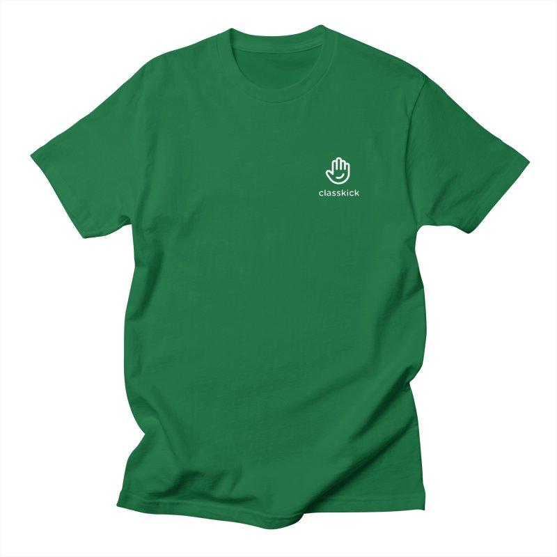 Logomark White Women's Regular Unisex T-Shirt by Classkick's Artist Shop