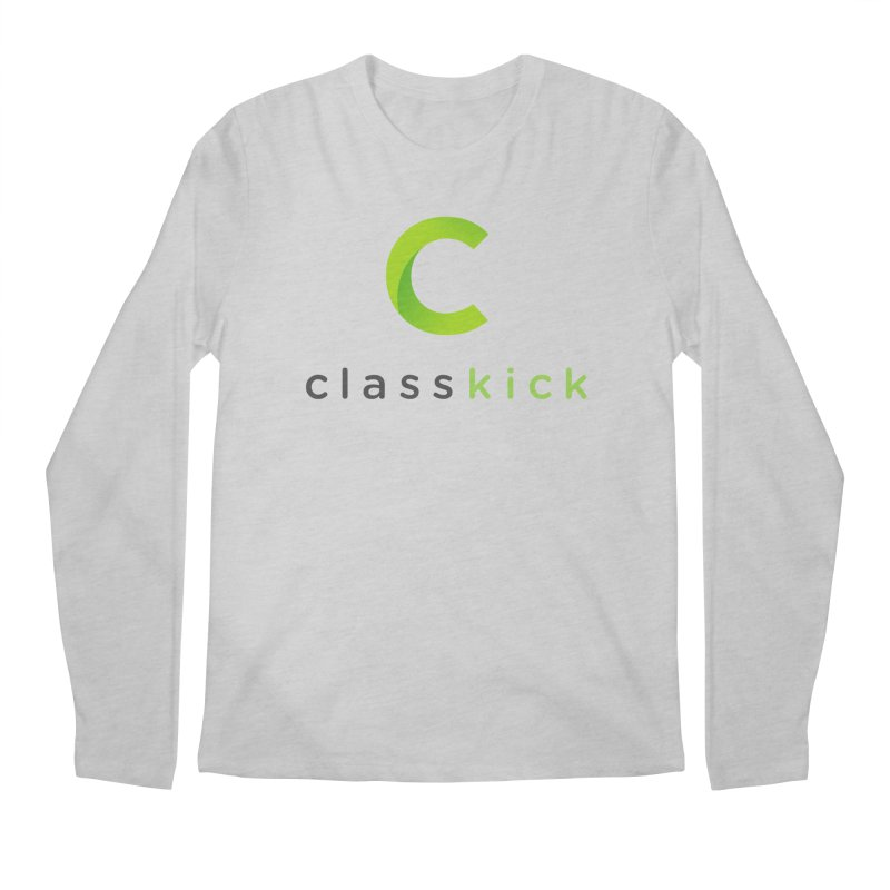 Classkick Logo Men's Regular Longsleeve T-Shirt by Classkick's Artist Shop