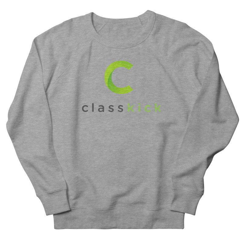 Classkick Logo Women's French Terry Sweatshirt by Classkick's Artist Shop