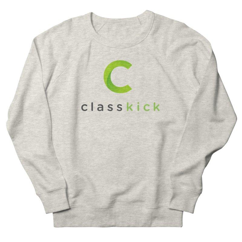 Classkick Logo Men's French Terry Sweatshirt by Classkick's Artist Shop