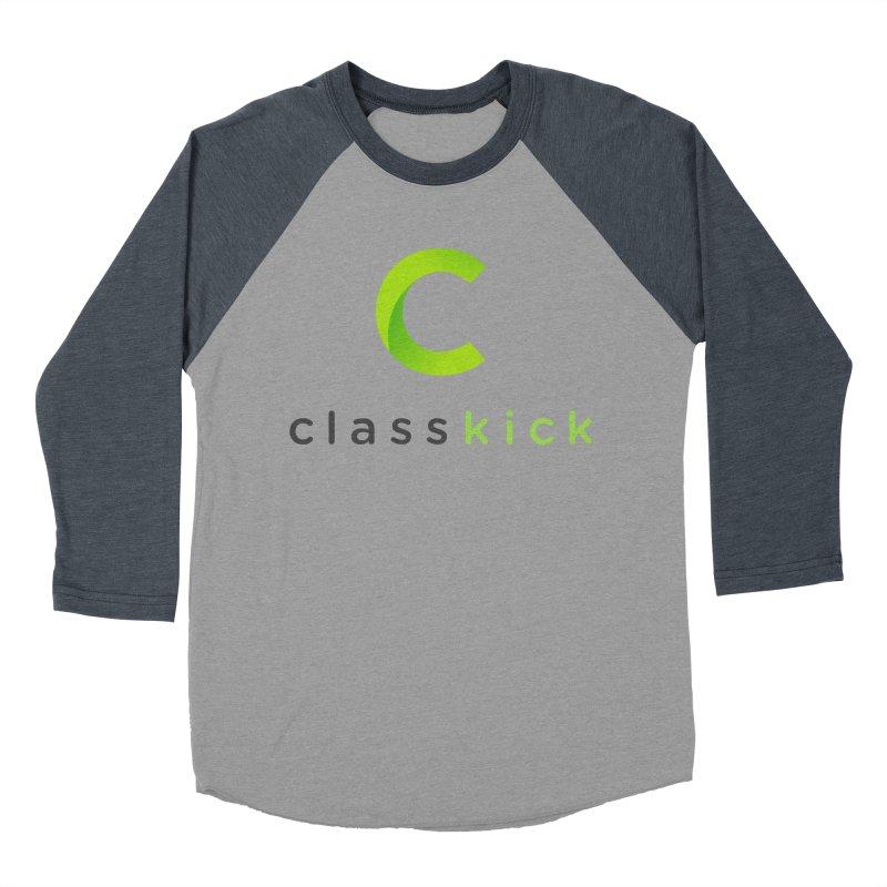 Classkick Logo Women's Baseball Triblend Longsleeve T-Shirt by Classkick's Artist Shop
