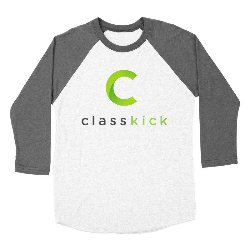 Classkick Logo Men's Baseball Triblend Longsleeve T-Shirt by Classkick's Artist Shop