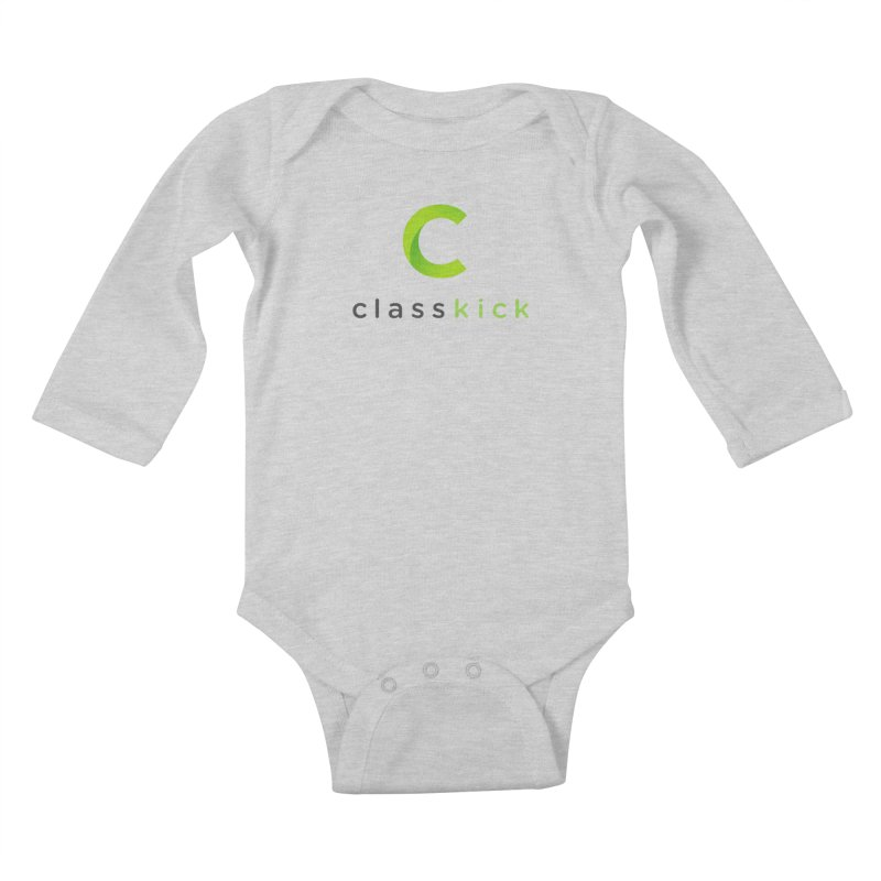 Classkick Logo Kids Baby Longsleeve Bodysuit by Classkick's Artist Shop
