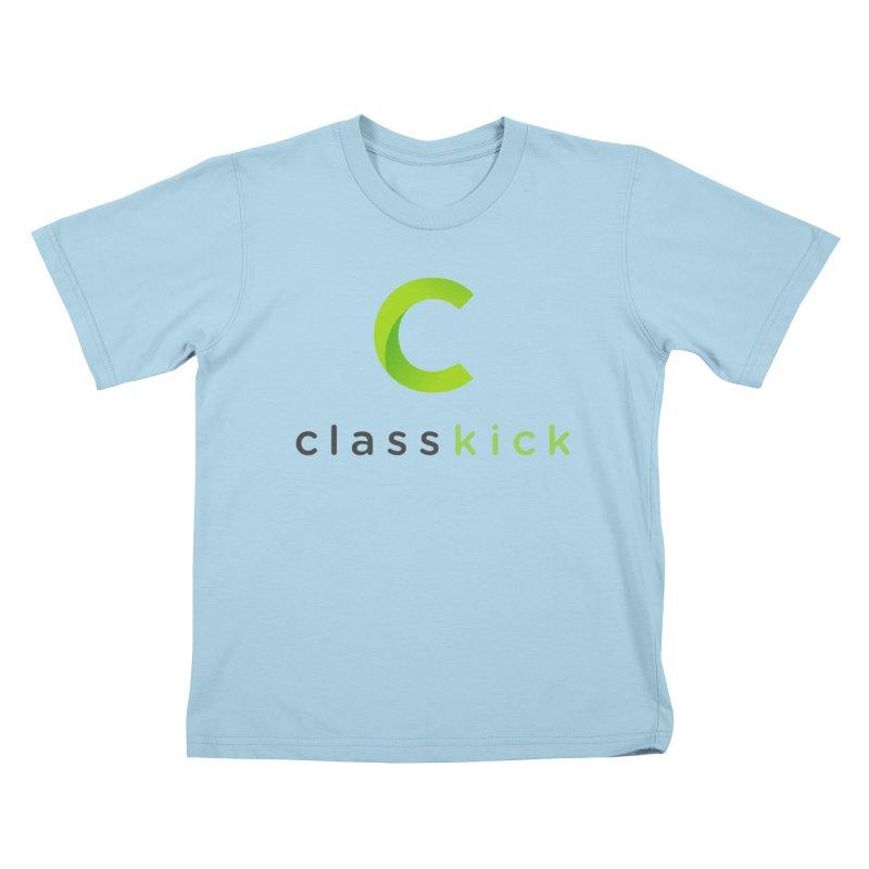 Classkick Logo Kids T-Shirt by Classkick's Artist Shop